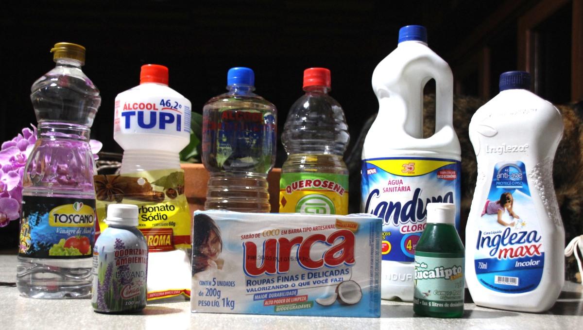Veganismino além do prato: produtos de limpeza
