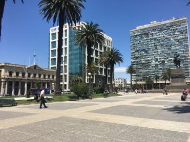 As ruas de Montevidéu