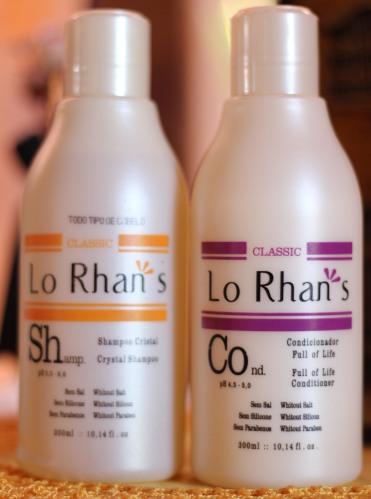 Shampoo Cristal e Condicionador Full of Life, este último não é vegano
